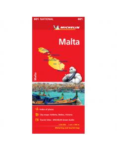 MN 801 Málta térkép