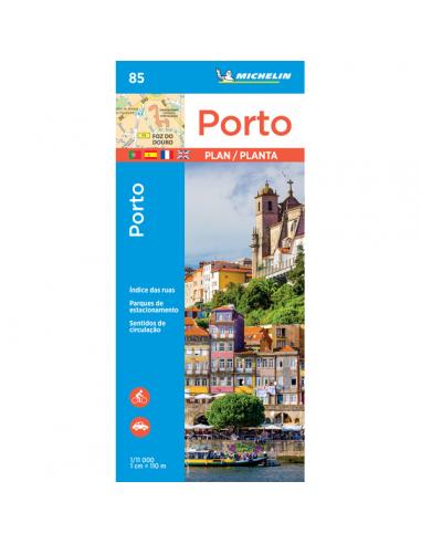 MN 85 Porto térkép
