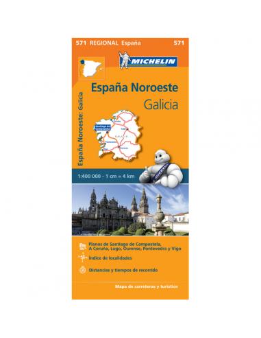 MN 571 Espana Noroeste - Galicia -...