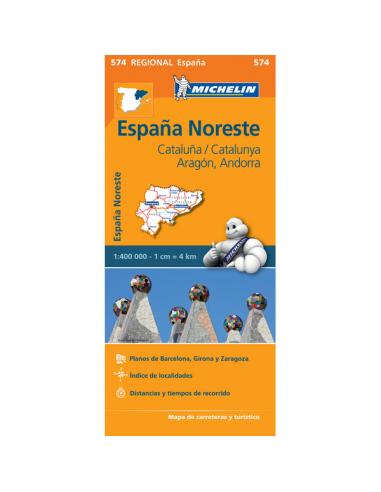 MN 574 Espana Noreste - Aragon -...