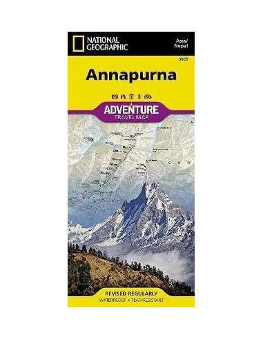 NG 3003 Annapurna - Adventure térkép...
