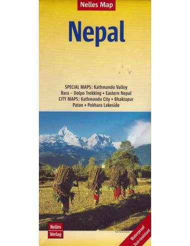 Nepál térkép