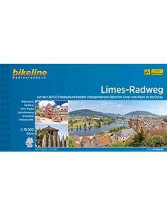 Limes-Radweg kerékpáros atlasz