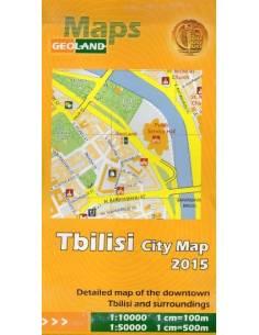 Tbilisi és környéke térkép