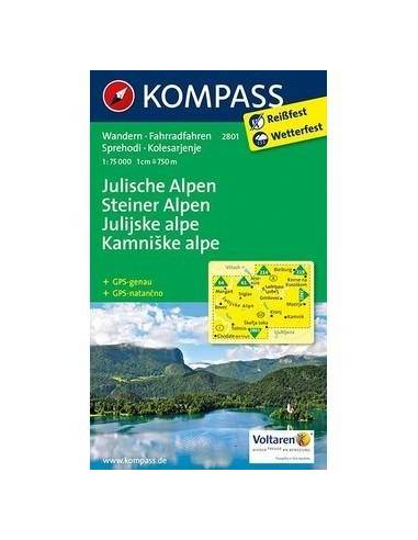 KK 2801 Julijske Alpe - Steiner Alpen...