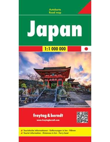Japán térkép