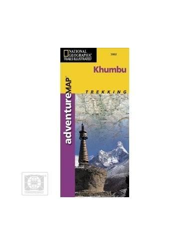 NG 3002 Khumbu térkép