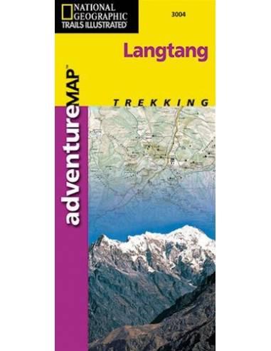 NG 3004 Langtang térkép
