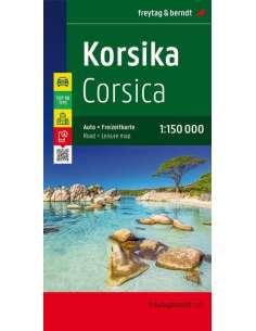 Corsica - Korzika térkép -...