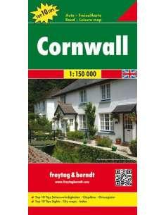 Cornwall térkép - TOP10
