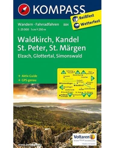 KK 884 Waldkirch, Kandel, St.Peter,...