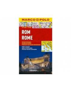 Róma city map lamiált -...
