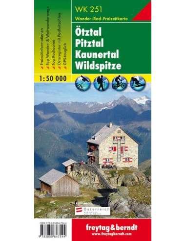 WK 251 Ötztal - Pitztal - Kaunertal -...