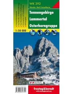 WK 392 Tennengebirge -...