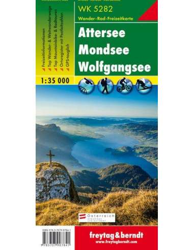 WK 5282 Attersee - Mondsee -...