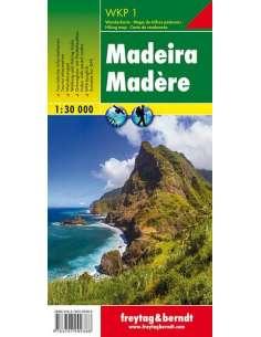WKP 1 Madeira túratérkép