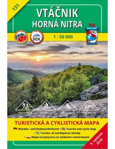 TM 131 Felső-Nyitra - Madaras-hegység...
