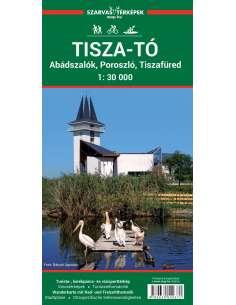 Tisza-tó turistatérkép,...