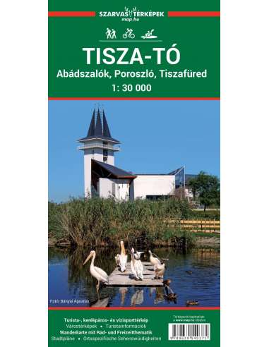 Tisza-tó turistatérkép, biciklis- és...
