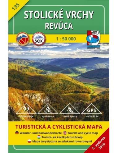TM 135 Sztolica-hegység - Nagyrőce...