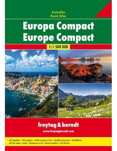 Europa Compact - Európa kompakt atlasz