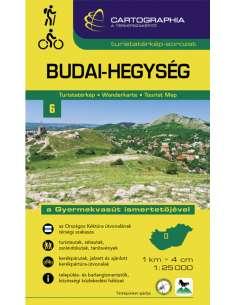 Budai-hegység turistatérkép...