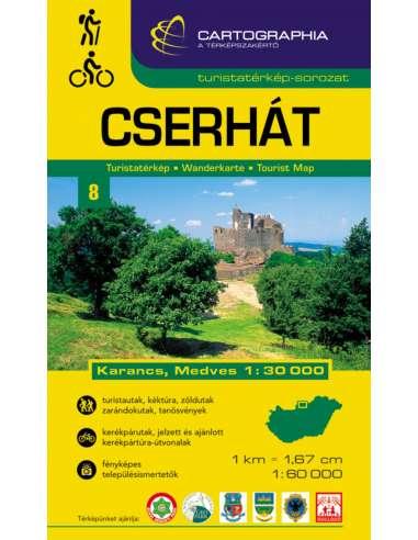 Cserhát (+ Karancs, Medves nyugat)...
