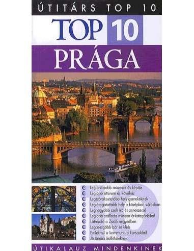 Prága útikönyv TOP 10 - Útitárs