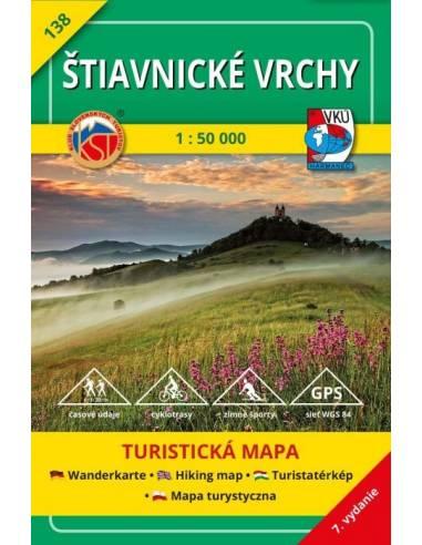TM 138 Selmeci-hegység turistatérkép...