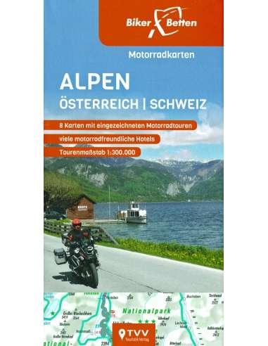 Alpen -  Alpok - Ausztria - Svájc...