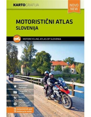 Slovenija - Szlovénia motoros atlasz...
