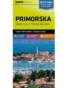 Primorska turistatérkép