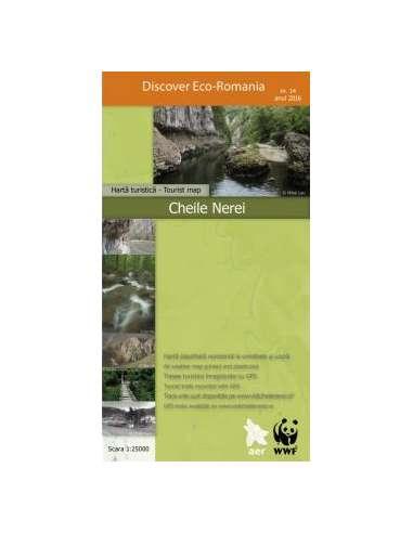 Chiele Nerei - Néra-völgy térkép -...