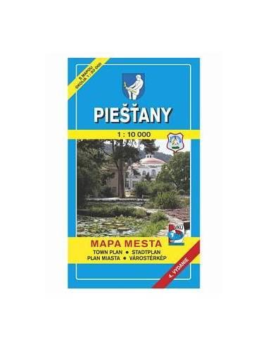 Pöstyén térkép (Piestany)