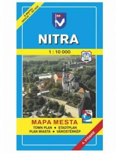 Nyitra térkép (Nitra)
