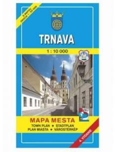 Nagyszombat térkép (Trnava)