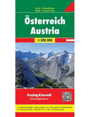 Österreich - Austria - Ausztria térkép