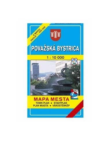 Vágbeszterce térkép (Povazská Bystrica)