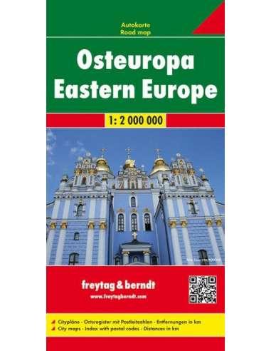 Eastern Europe - Kelet-Európa térkép
