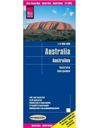 RKH Australien - Ausztrália térkép