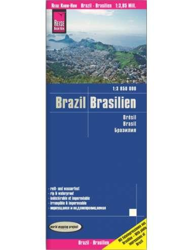 RKH Brasilien - Brazil - Brazília térkép