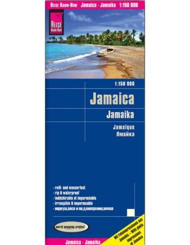 RKH Jamaica - Jamaika térkép