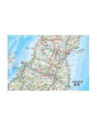 RKH Japan - Japán térkép