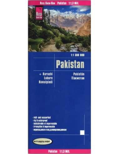 RKH Pakistan - Pakisztán térkép