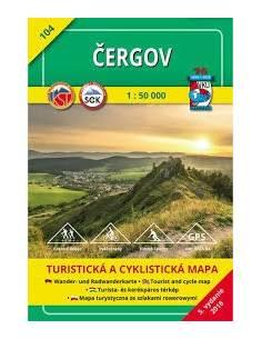 TM 104 Csergő turistatérkép...