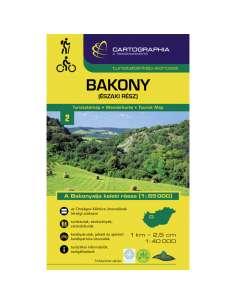 Bakony (Észak) turistatérkép