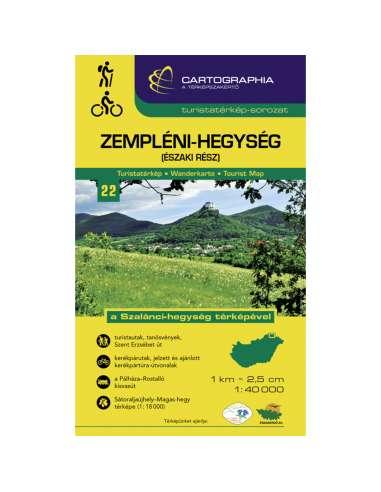 Zempléni-hegység (Észak) turistatérkép