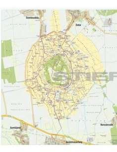 Somló-hegy térkép