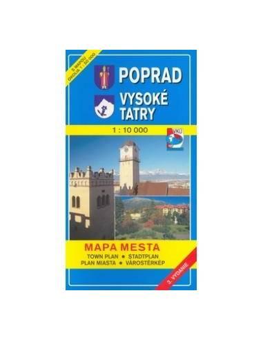 Poprád / Ótátrafüred térkép (Poprad -...