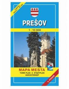 Eperjes térkép (Presov)